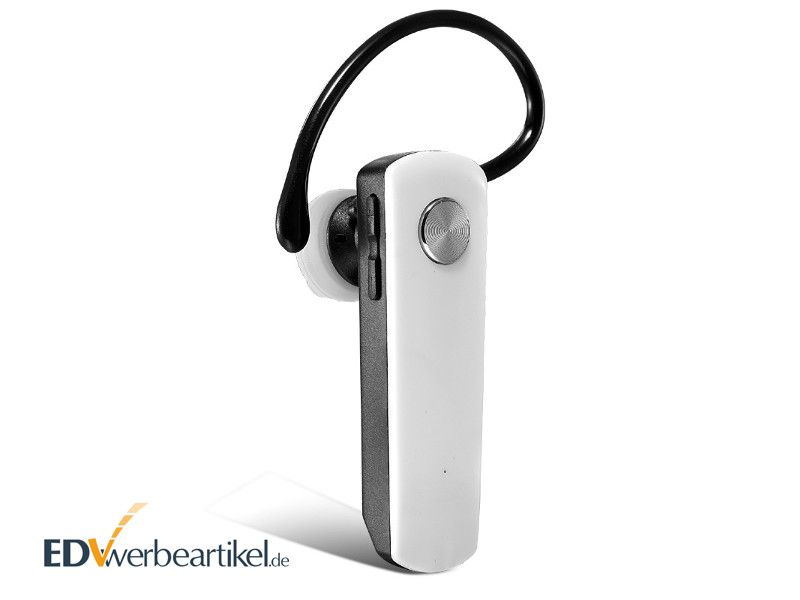 Kopfhörer Werbemittel Bluetooth Mono Headset bedrucken - Werbegeschenk