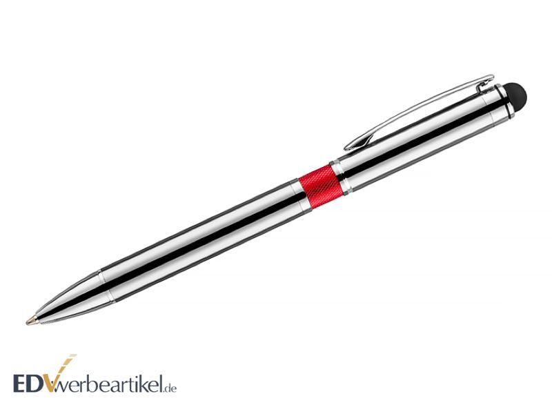 Kugelschreiber Touchpen LEGACY red