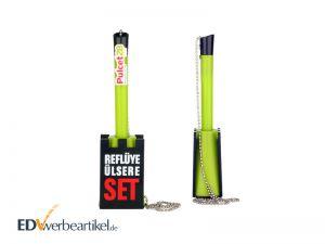 Kugelschreiber Standfuß Kugelschreiberständer Werbeartikel Sonderform Werbegeschenk Sonderanfertigung individuell