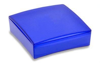 USB Stick Geschenkbox aus Kunststoff blau