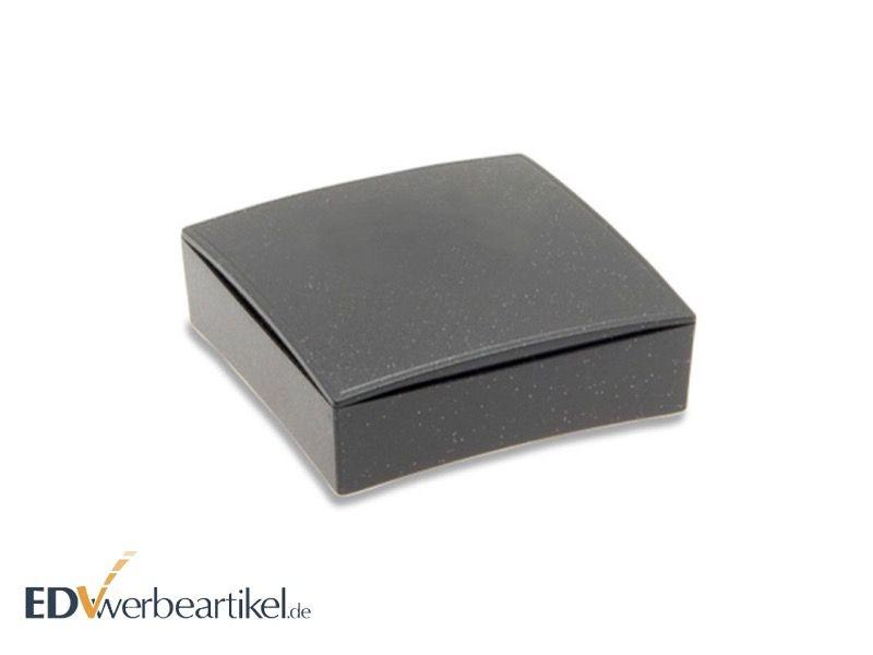 Kunststoffschachtel schwarz-glitter