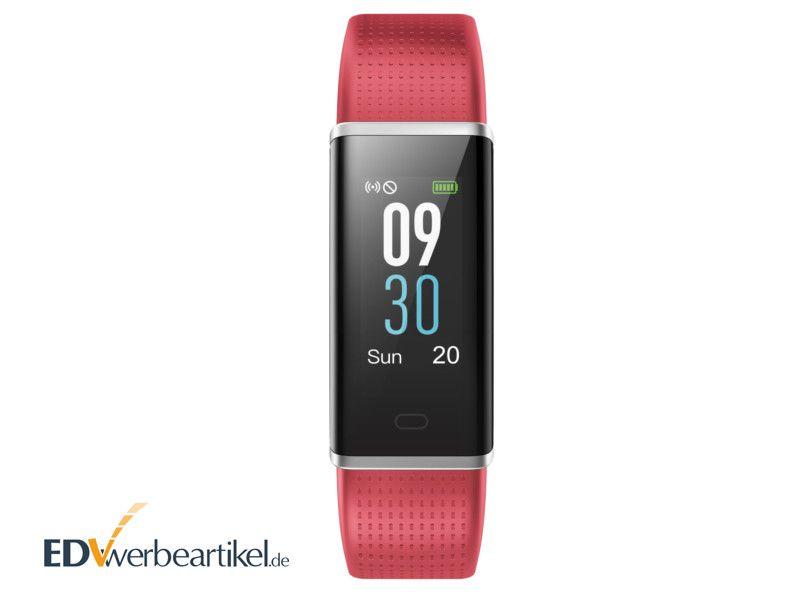 Fitness Armband zum Laufen mit Farbdisplay als Werbegeschenk