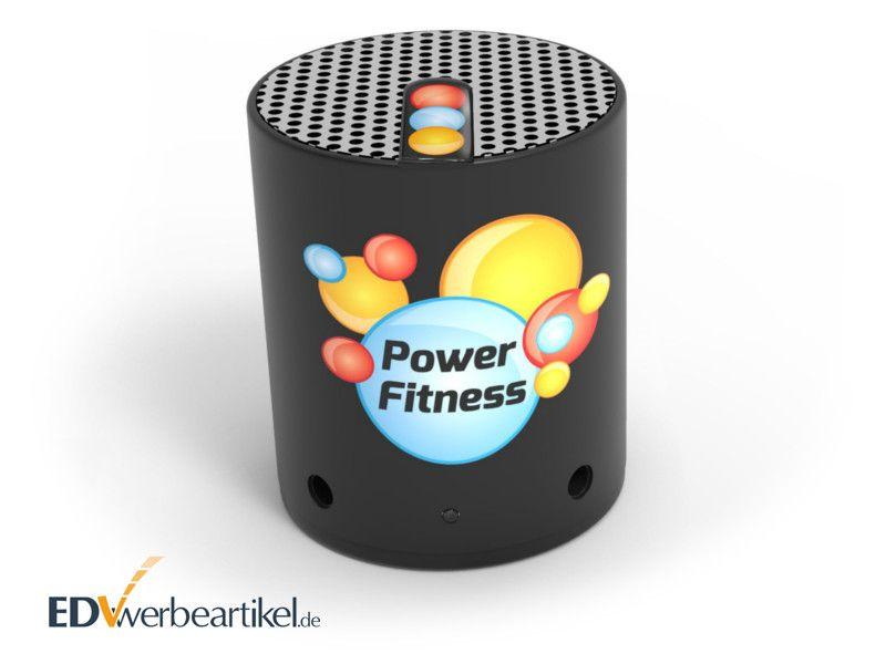 Bluetooth Lautsprecher POP mit Logo Branding bedrucken