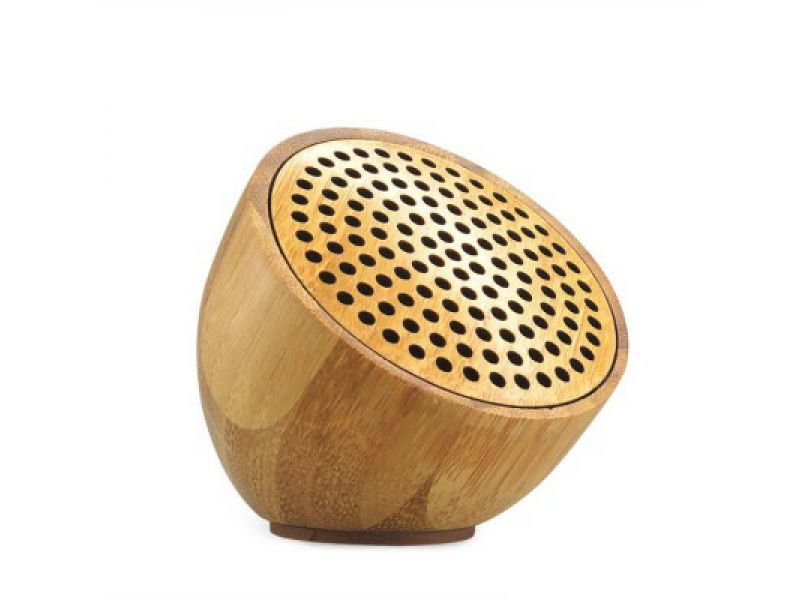Holz Bambus Cup Speaker