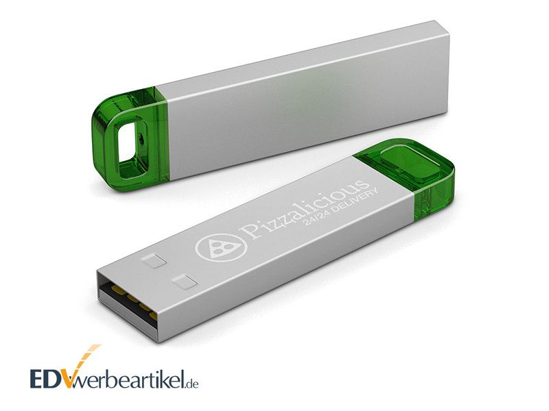 USB Stick LED METALL mit Logo bedrucken