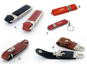 USB Stick Leder Werbeartikel - mehrere Modelle