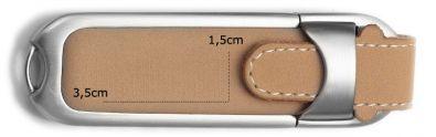 USB Speicherstick aus Leder mit Logo