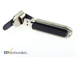 Leder USB Stick Werbeartikel bedrucken oder prägen als Werbegeschenk - HIGHSPEED