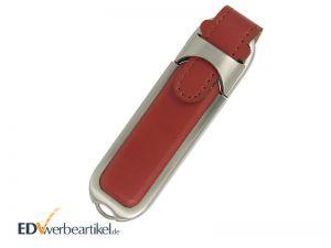 Leder USB Stick Werbeartikel mit Logo bedrucken oder prägen HIGHSPEED