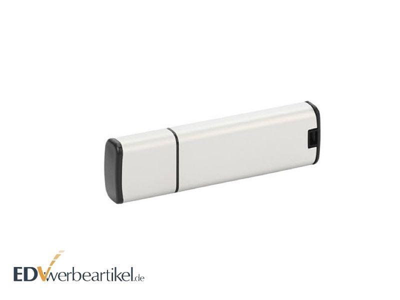 weißer USB Stick als Werbeartikel bedrucken