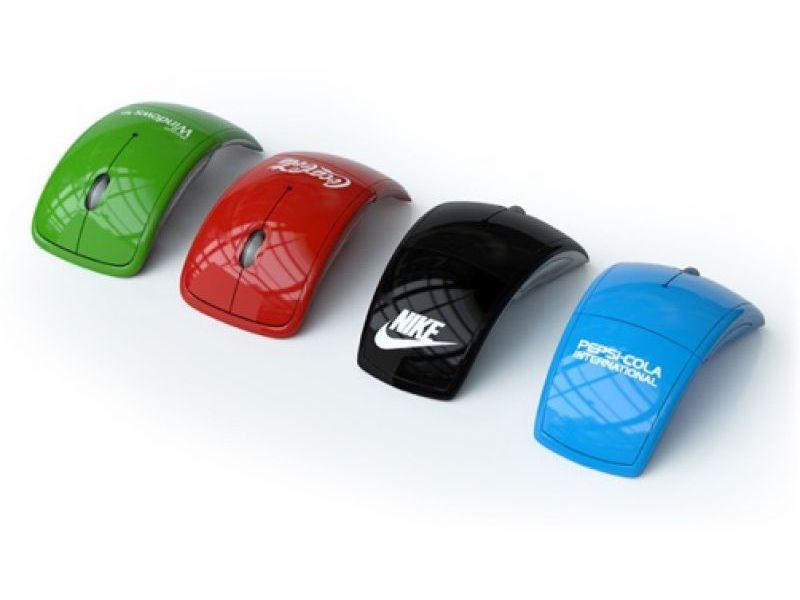 PC Maus mit Logo bedrucken - Computer Werbeartikel