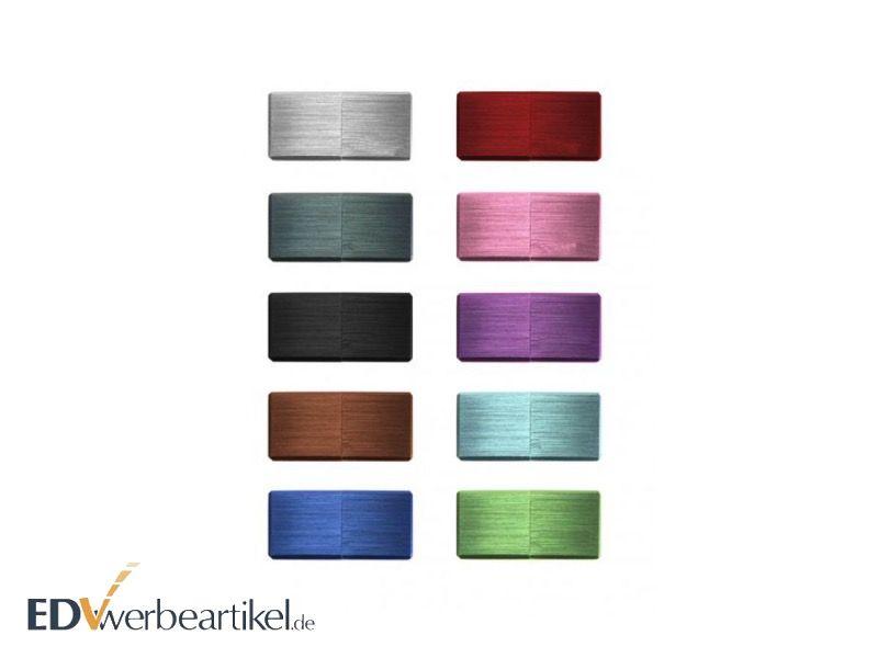 Mini USB Stick Werbemittel aus Metall in vielen Farben
