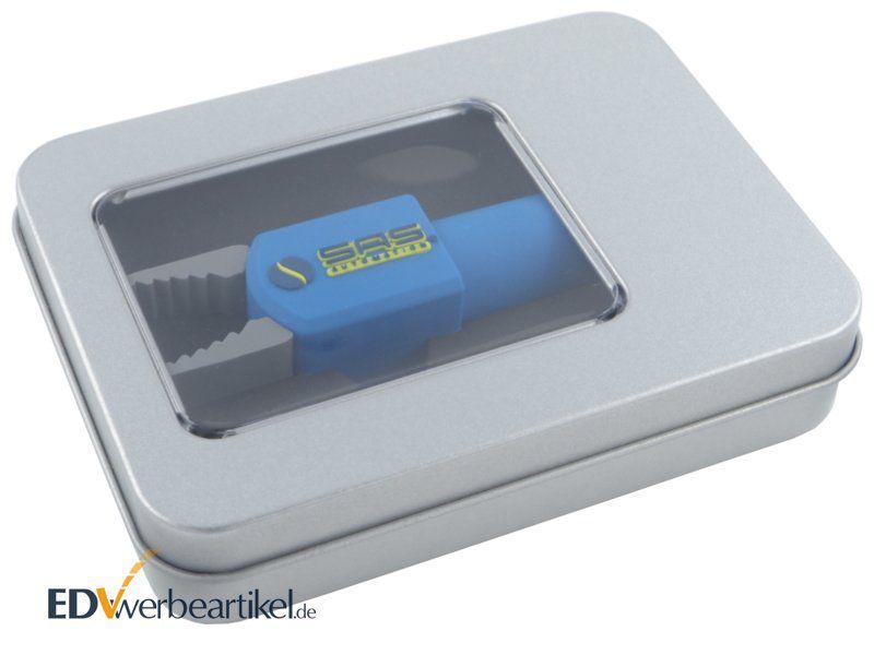 Metallbox Geschenkverpackung für 3D USB Sticks