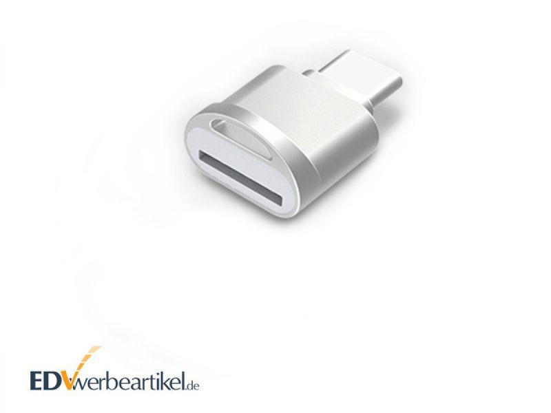 micro SD Kartenleser Typ C als Werbeartikel bedrucken