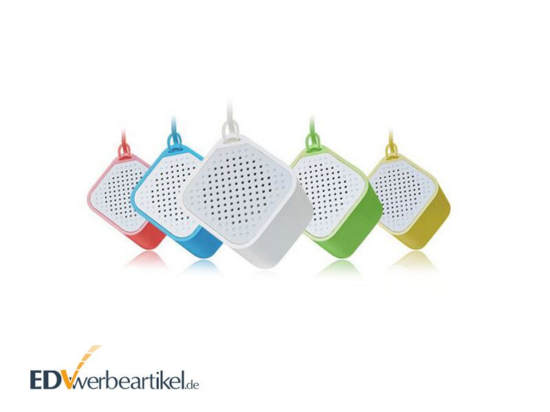 Mini Bluetooth Lautsprecher Werbemittel Würfel