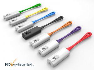 Mini Powerbank Werbeartikel Schlüsselanhänger mit Logo bedrucken