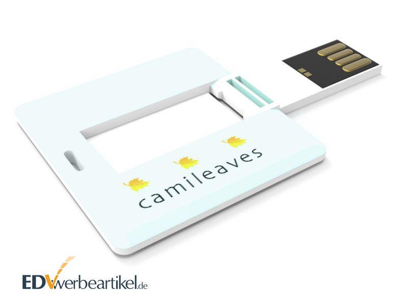 USB Mini Card SQUARE Vollfarbdruck beidseitig