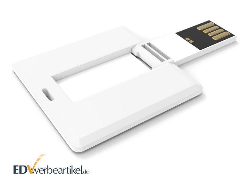 Mini USB Karte bedrucken mit Logo SQUARE