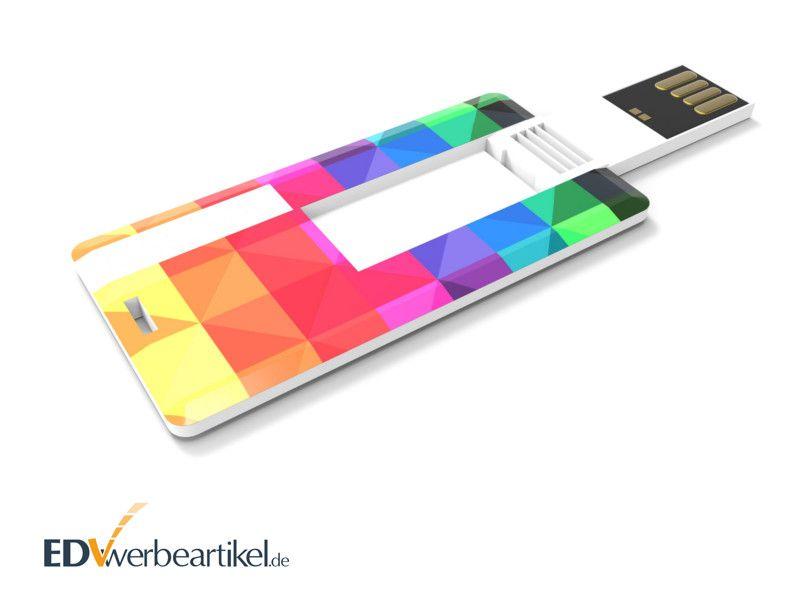 Mini USB Karte bedrucken als Werbemittel