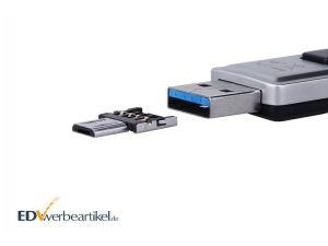 Mini USB On-the-Go Adapter Stecker - mit Stick