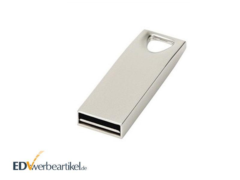 Mini USB Stick aus Metall mit Logo