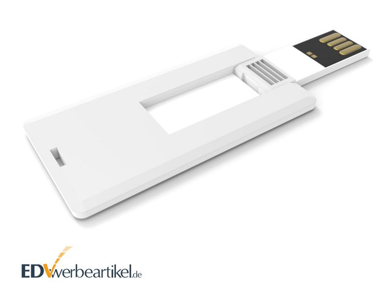Mini USB Visitenkarte mit Logo als Werbeartikel