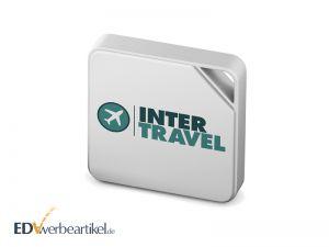 Kabellose Datenübertragung: Mini Festplatte mit Logo
