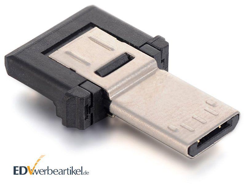 Mini USB OTG Adapter Stecker - Rückseite