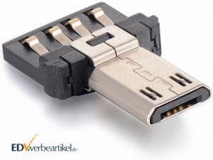 Mini USB OTG Adapter Stecker - Vorderseite