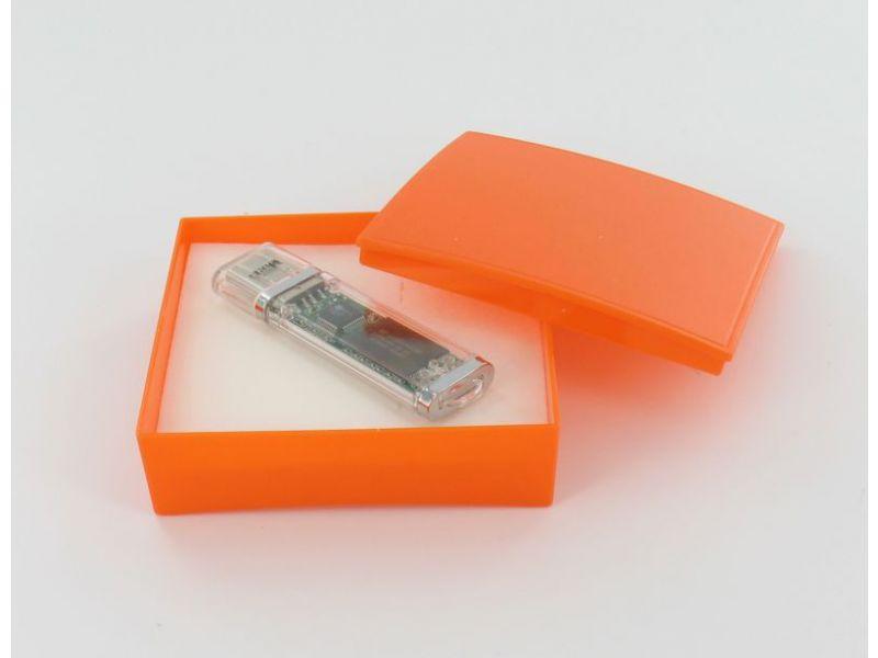 Kunststoff Schachtel mit Deckel und Schauminlay