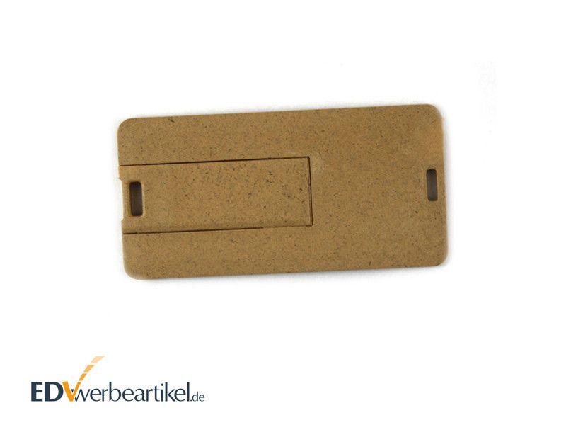 Öko USB Visitenkarte SQUARE RECYCLED