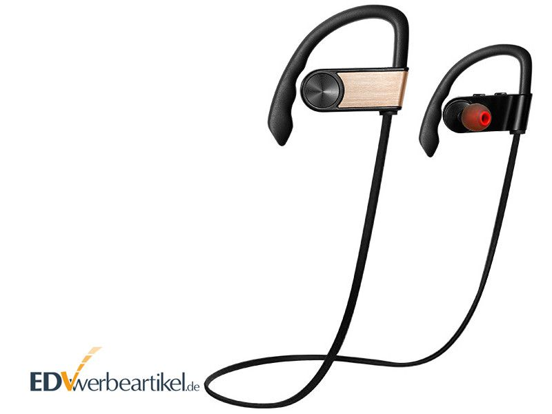 Originelle Werbegeschenke Kopfhörer Werbeartikel Bluetooth Stereo Headset bedrucken