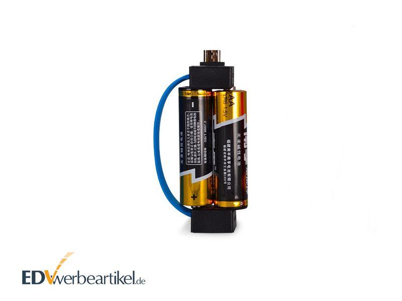 Powerbank Adapter AA BATTERIE mit Logo