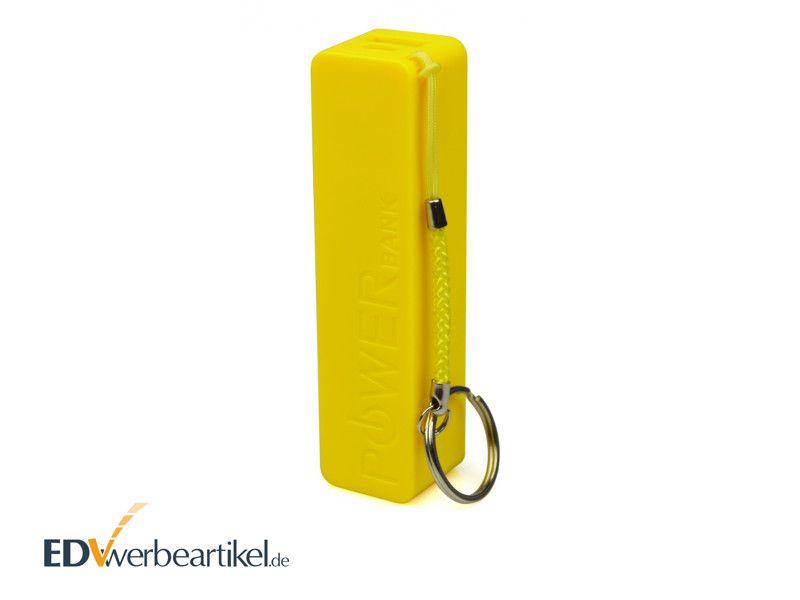Powerbank mit Logo Werbemittel Schlüsselanhänger
