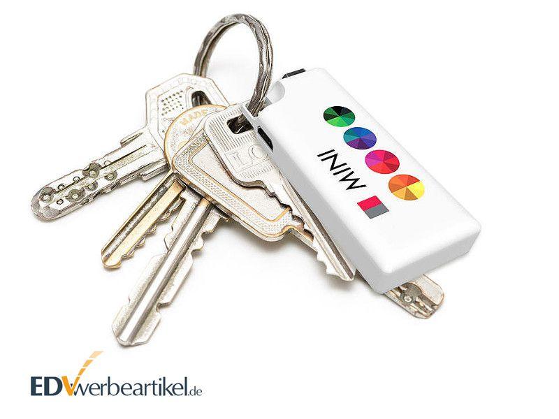 Powerbank Schlüsselanhänger Werbeartikel FRIENDSHIP