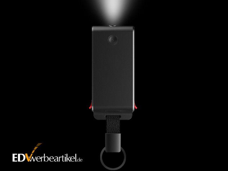 Powerbank Taschenlampe Schlüsselanhänger
