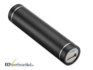 Powerbank Werbeartikel Aluminium Rolle