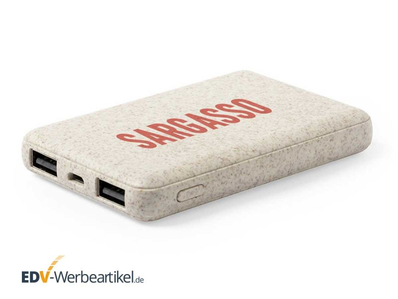 Powerbank Wheatstraw SIMPLE 5000 mAh