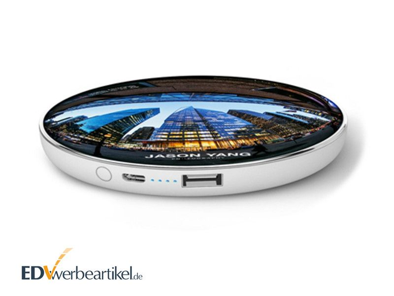 Powerbank mit Wireless Ladefunktion als Werbegeschenk SPEED