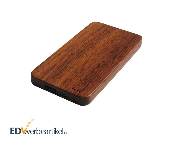 Holz Powerbanks bedrucken WHISKEY 4000 - 8000 mAh