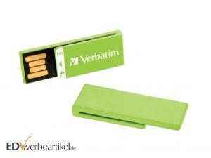 USB Stick Clip-it Verbatim als Büro Werbegeschenk