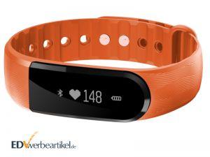 Pulsmesser Werbemittel Fitness Armband mit Firmenlogo bedrucken