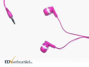 In-Ear Headphones RAINBOW als Give-Away und Werbemittel mit Logo