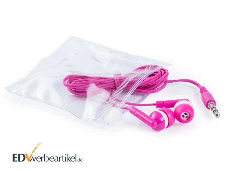 In-Ear Ohrhörer RAINBOW als Werbegeschenk