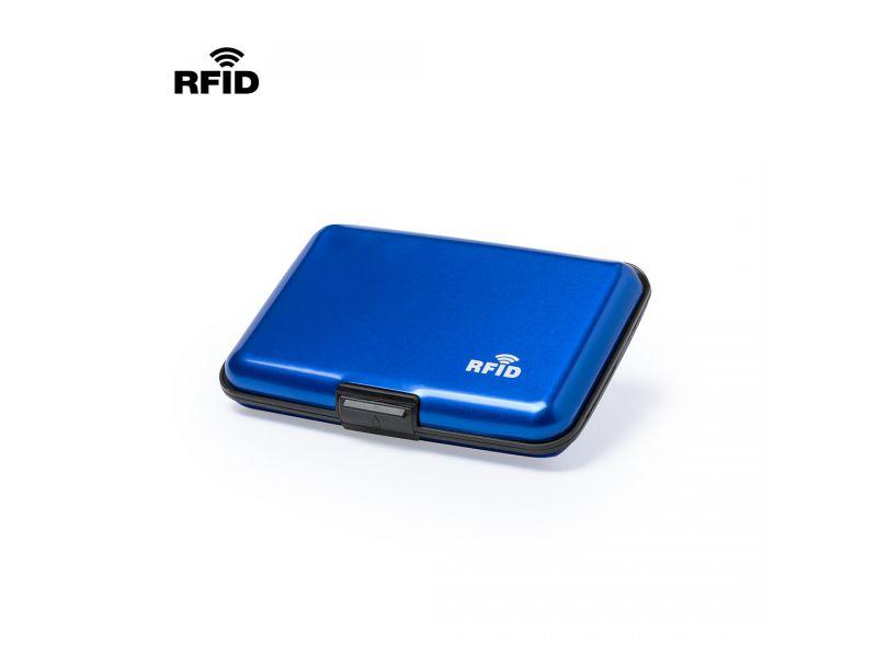 RFID Kartenetui mit Ausleseschutz Aluminium