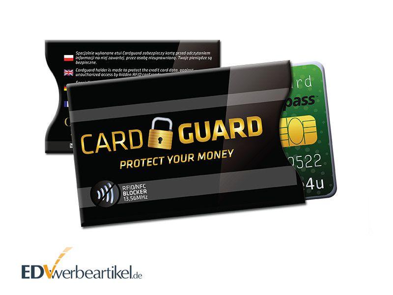 RFID Schutzhülle bedrucken PROTECT