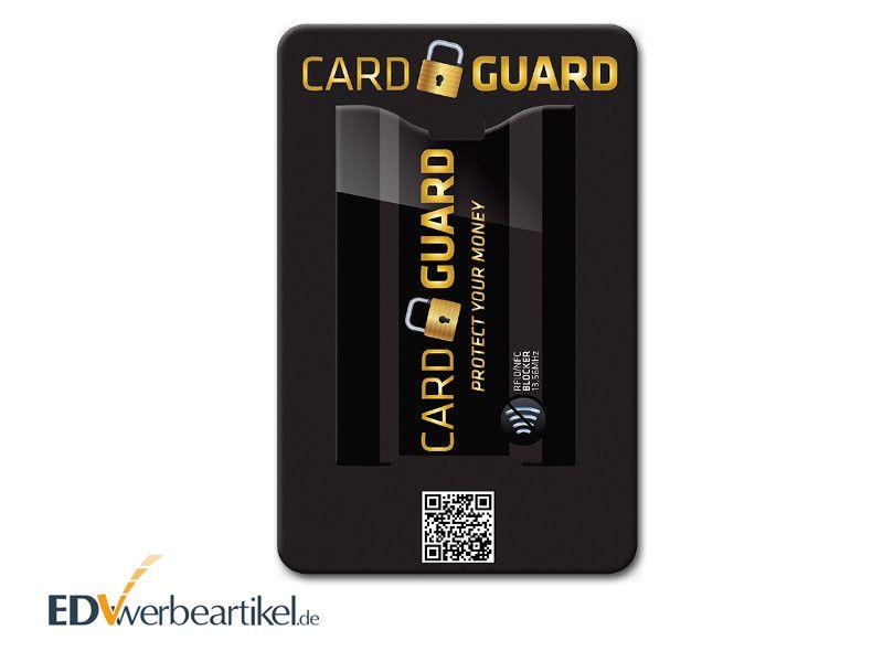 RFID Schutzhülle Träger-Karte bedrucken PROTECT
