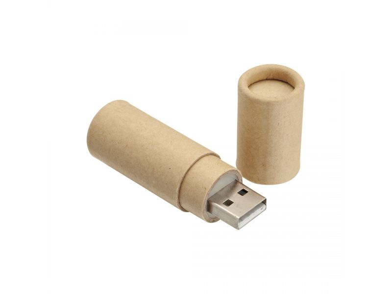 USB Stick ROUND RECYCLED
