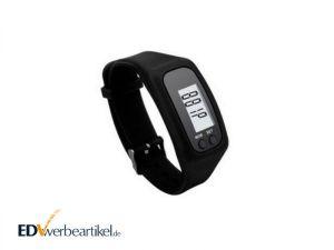 Schrittzähler Werbeartikel Fitness Armband EASY mit Logo bedrucken