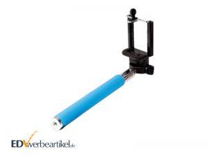 Selfie Stick mit Logo bedrucken als Werbeartikel - Monopod Stange